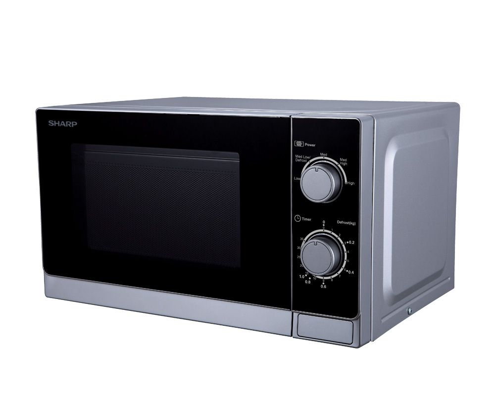 SHARP Microwave 20 Litre , 800 Watt in Silver Color R-20CR(S)