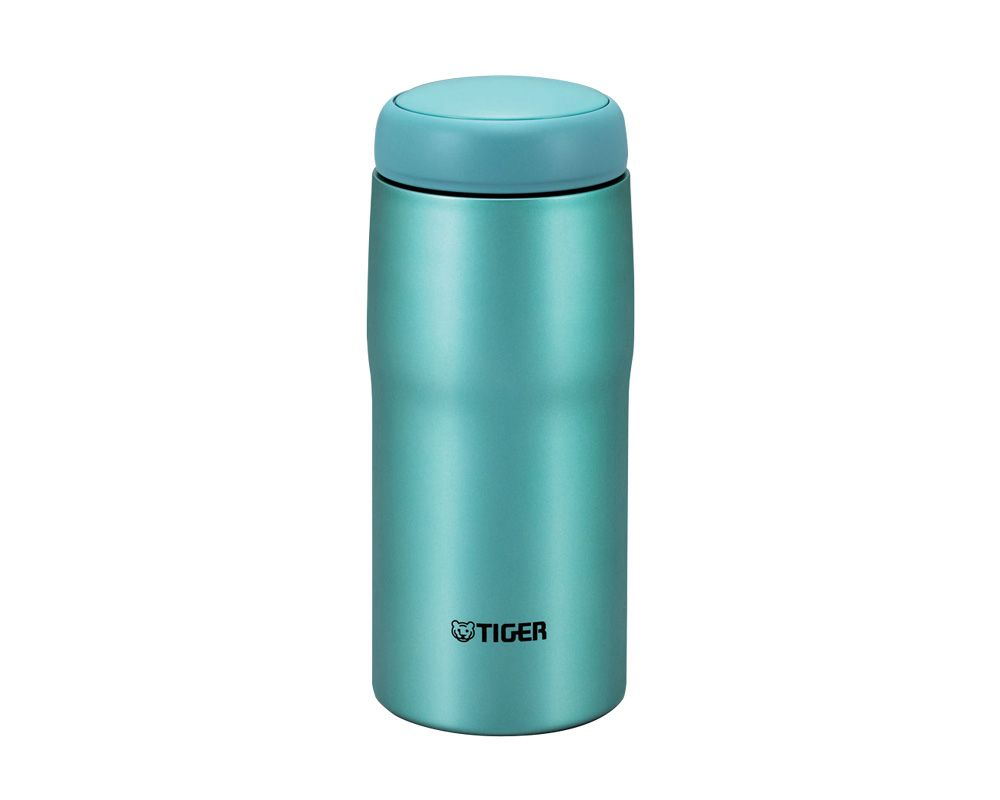TIGER Stainless Steel Thermal Mug 0.24 Litre Capacity, In Bright Blue Color MJA-B024